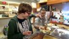 Video «Warme Mahlzeit für Randständige» abspielen