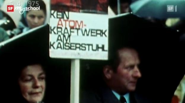 Video ««Zeitreise: Kampf gegen die Atomkraft» - Folge 45» abspielen