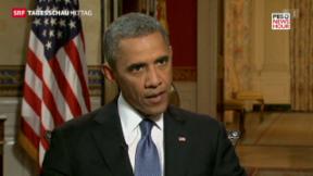 Video «Obama hat noch nicht entschieden» abspielen