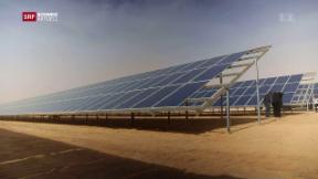 Video «Themenschwerpunkt «Unter Strom» - Zukunft Sonnenenergie» abspielen