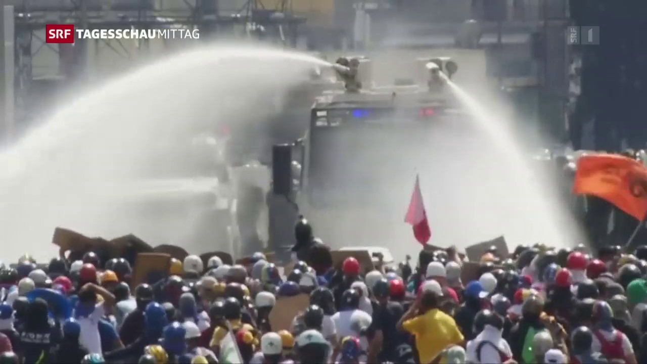 Schwere Proteste in Venezuela