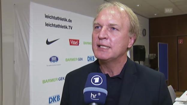 Video «Die Erklärung von DLV-Präsident Clemens Prokop (EVS)» abspielen