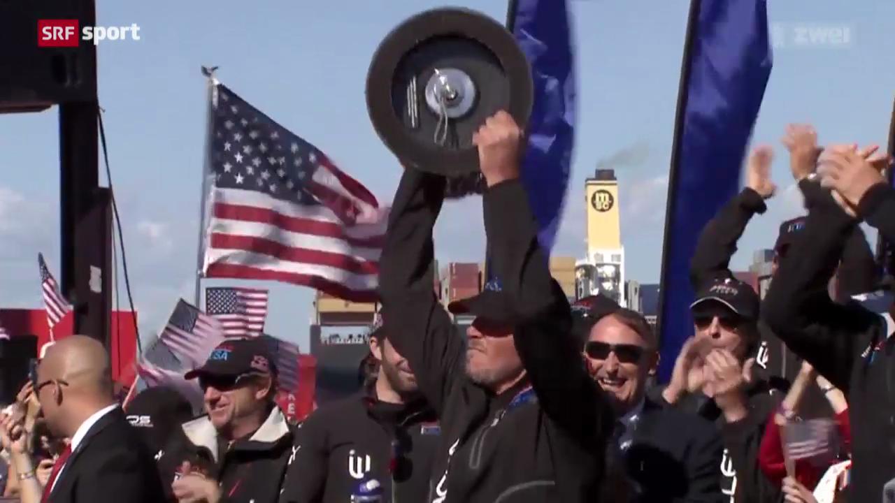 Segeln: America's Cup