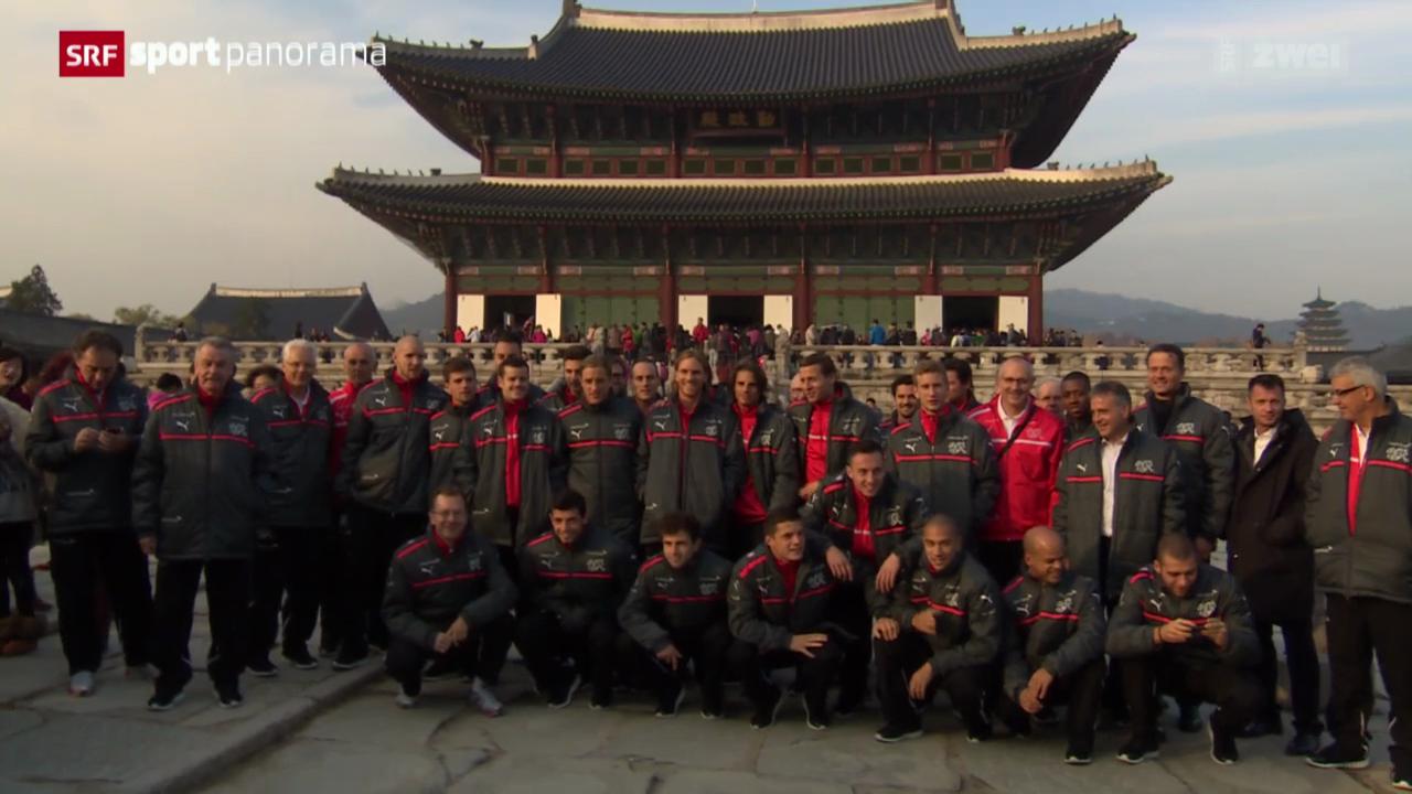 Fussball: Die Schweizer Nati in Südkorea