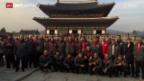 Video «Fussball: Die Schweizer Nati in Südkorea» abspielen