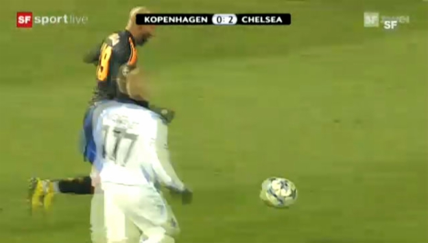 Video «CL: Kopenhagen - Chelsea» abspielen