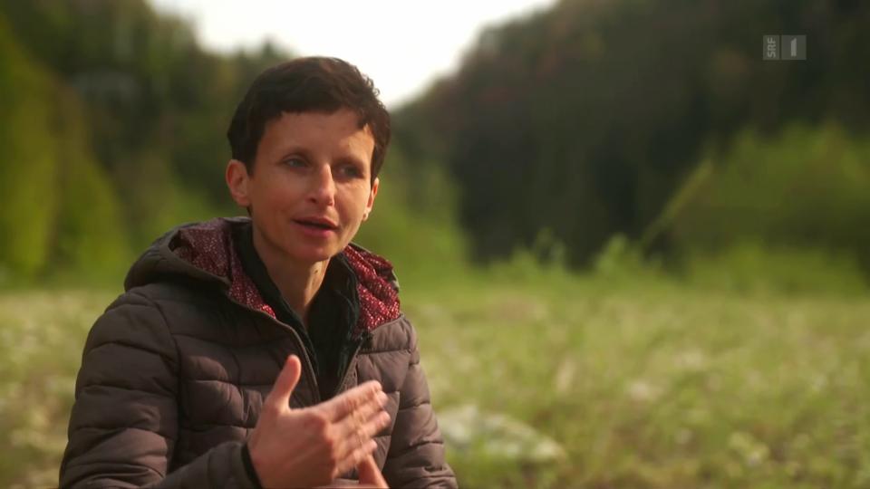 Renate Schulthess erzählt, wie ihr Lieblingsfluss ihr dabei geholfen hat, die Chemotherapie überhaupt akzeptieren zu können.