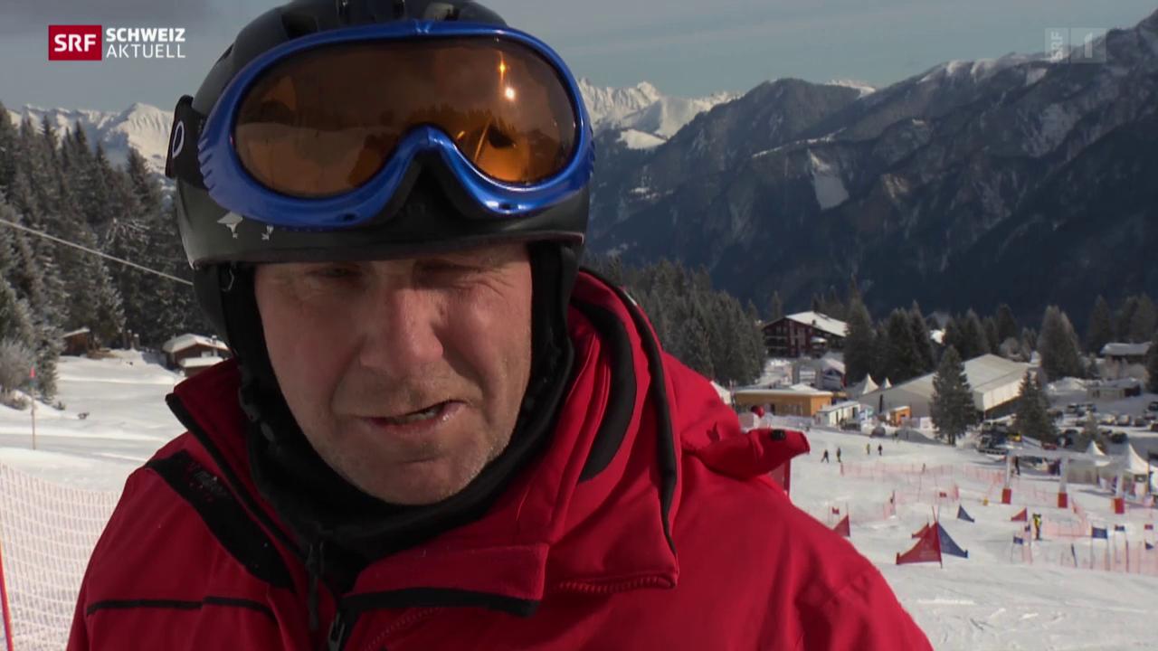 Motivierte Sportler an den «Special Olympics» in Chur