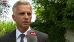 Video «Reaktion des Bundespräsidenten» abspielen