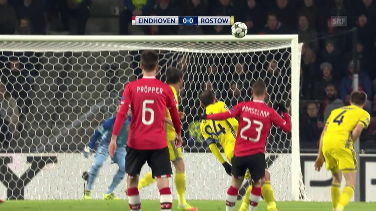 Keine Tore zwischen PSV und Rostow