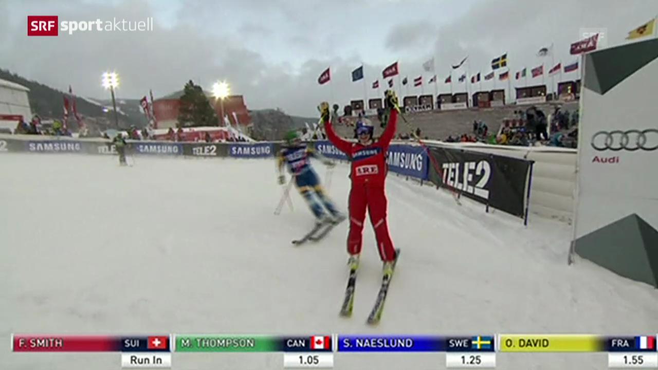 Skicross: Weltcup Frauen in Are («sportaktuell»)