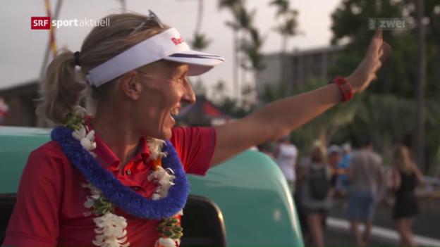 Video «Natascha Badmann vor dem Ironman Hawaii» abspielen