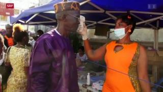 Video «Ebola-Impfstoff im Test» abspielen