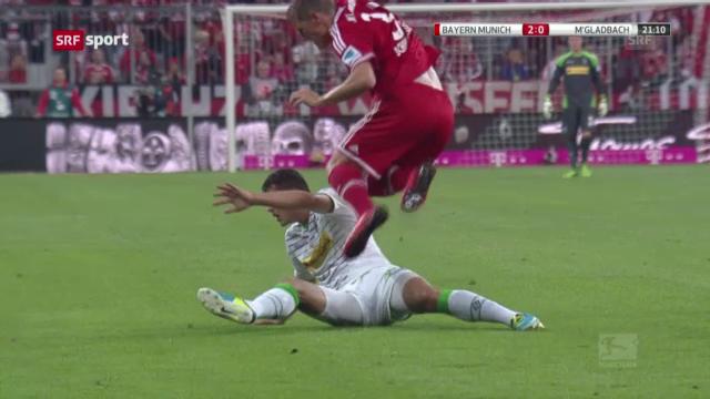Fussball: Bayern - Mönchengladbach («sportaktuell»)