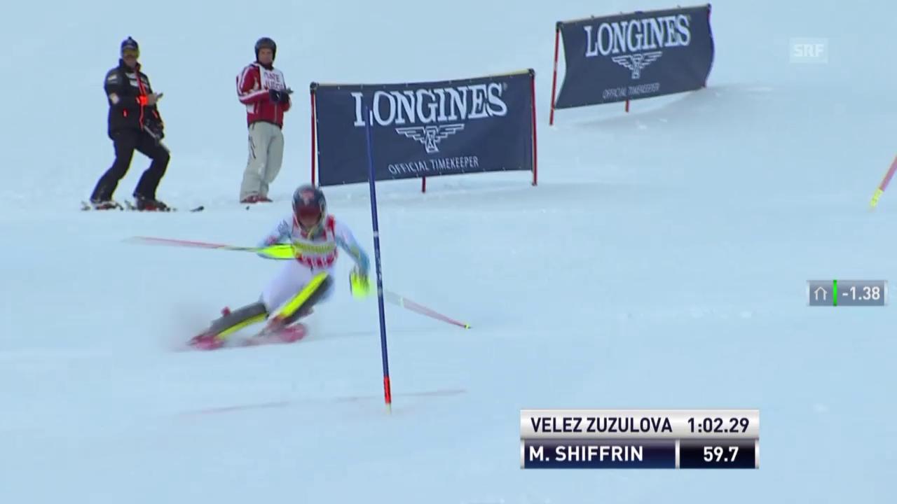Ski Alpin: Shiffrins Slalom-Show in Aspen