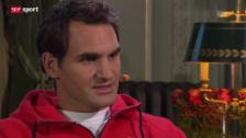 Video «Federer über den Zusammenhang von Spass und Erfolg» abspielen