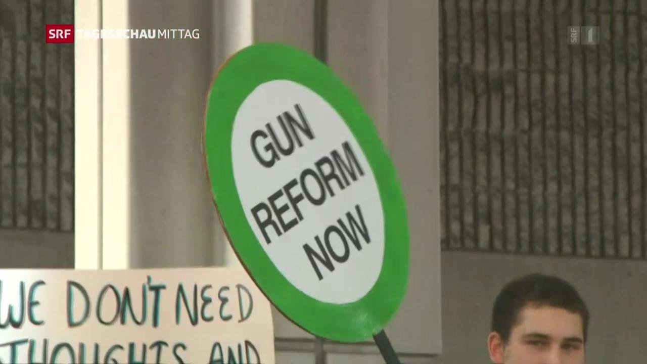 «Gun reform now»