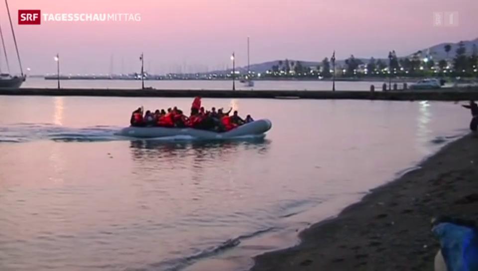 Kos-Flüchtlinge werden nach Piräus gebracht