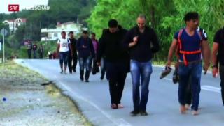 Video «Flüchtlingsproblem weiterhin auf der Agenda» abspielen