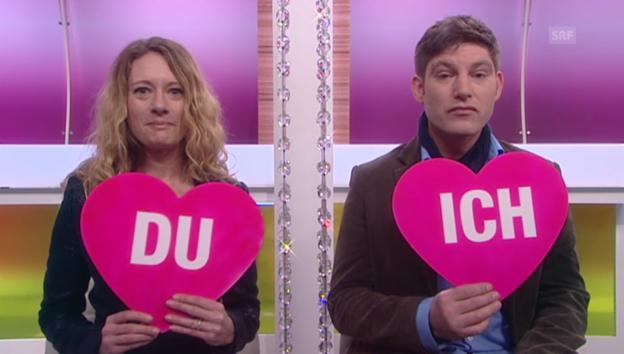 Video ««Ich oder Du» mit David Bröckelmann und Salomé Jantz» abspielen