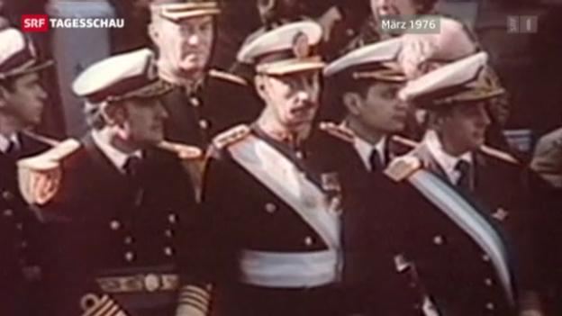 Video «Argentinischer Ex-Diktator gestorben» abspielen