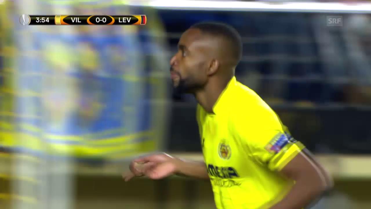 Villarreal bezwingt Leverkusen