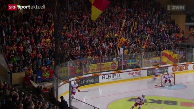 Video «Eishockey: NLA, SCL Tigers - Lausanne» abspielen