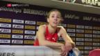 Video «Selina Büchel an der Hallen-WM in Birmingham» abspielen