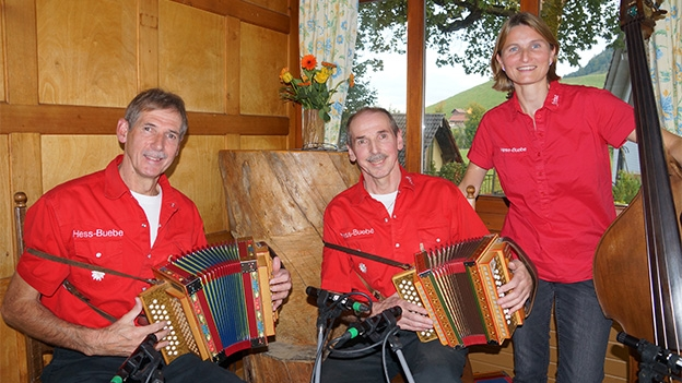 Schwyzerörgeli-Trio Hess-Buebe: «Puur-Näll-As»