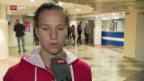 Video «Golubic: «Ich bin enttäuscht»» abspielen