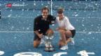 Video «Federer und Bencic gewinnen Hopman Cup» abspielen