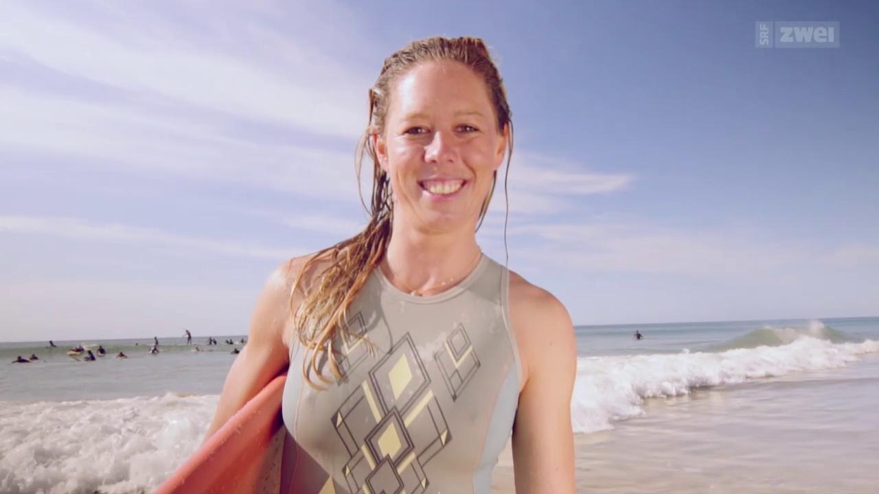 Virus Voyage: Das Schweizer Surfergirl