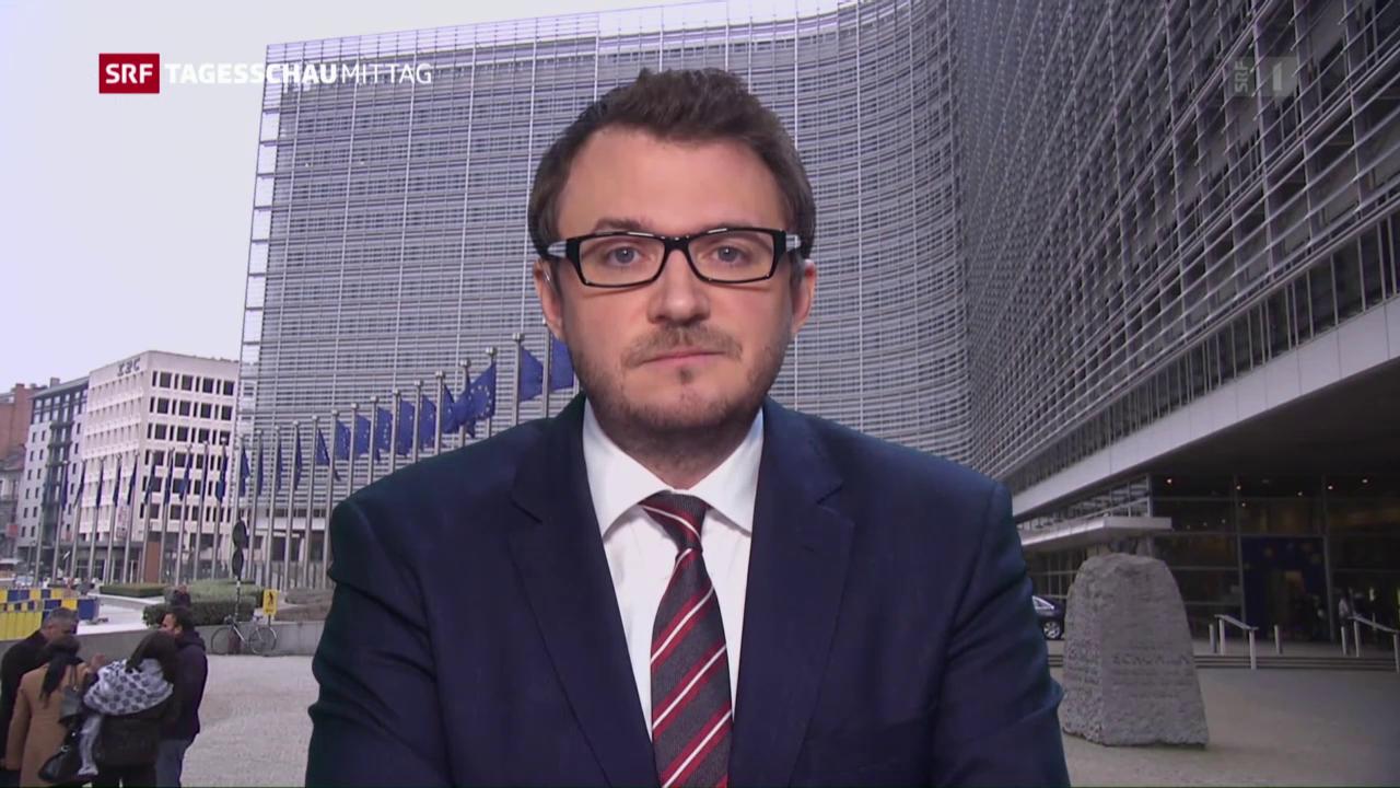 SRF-Korrespondent Sebastian Ramspeck: «Schlag für die EU-Aussenpolitik»
