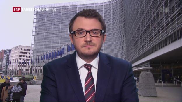 Video «SRF-Korrespondent Sebastian Ramspeck: «Schlag für die EU-Aussenpolitik»» abspielen