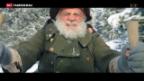 Video «Bruno Ganz als Alpöhi im Kino» abspielen