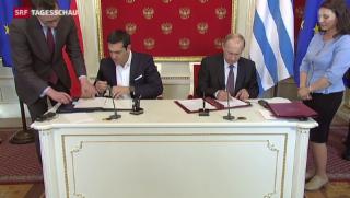 Video «Tsipras in Moskau» abspielen