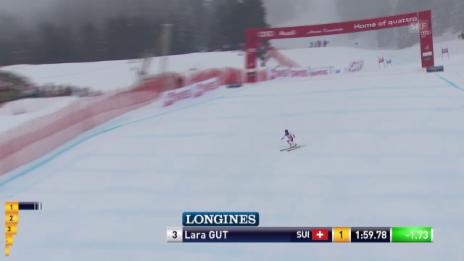 Video «Lara Gut sichert sich den Gesamtweltcup» abspielen