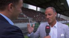 Video «Fussball: Thomas Hengartner erinnert sich an Ivan Zamorano» abspielen