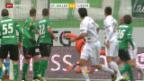 Video «Fussball: SL, St.Gallen - Luzern» abspielen