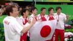 Video «Japans Kunstturner triumphieren» abspielen