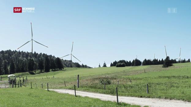 Video «Etappensieg für Grenchner Windpark» abspielen