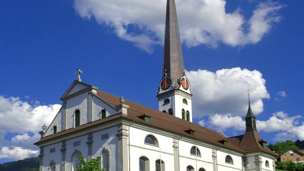 Glockengeläut der Kirche St. Martin in Malters