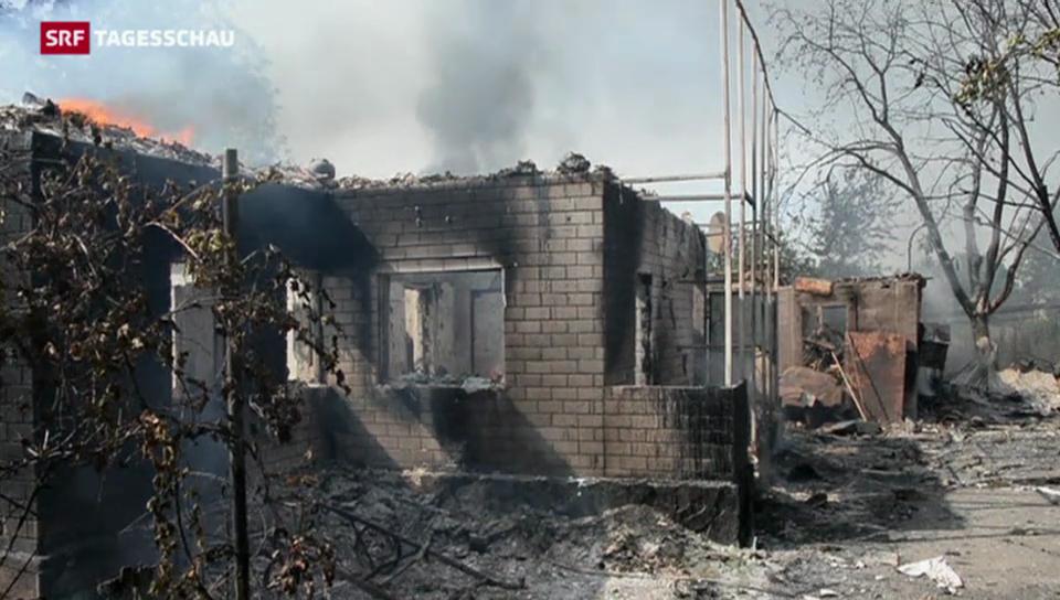 Waffenruhe in der Ukraine hält nicht