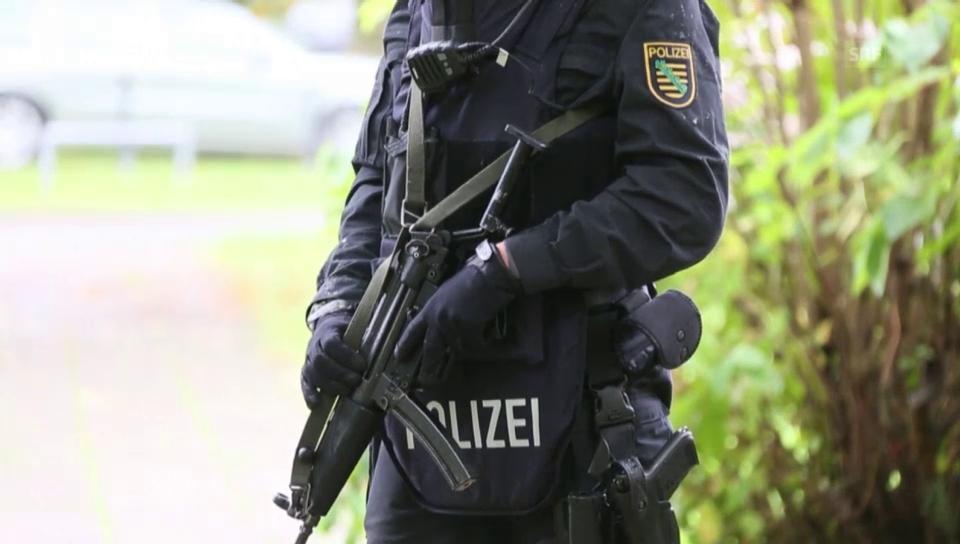 Terroralarm in Sachsen