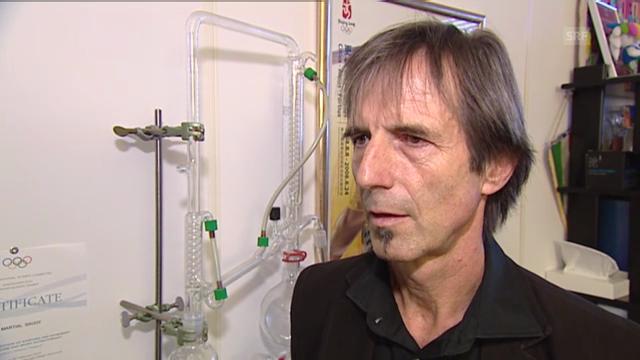 Interview mit Martial Saugy (französisch)