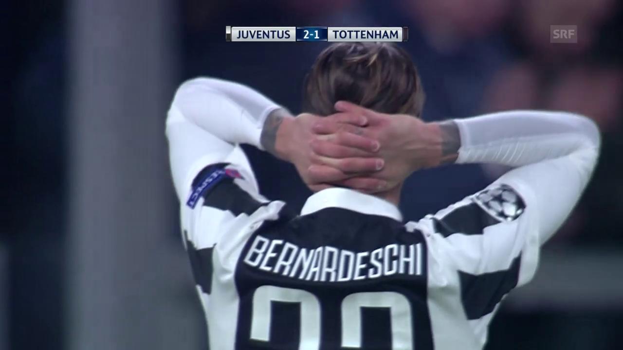 Tottenham erkämpft sich in Turin ein Remis
