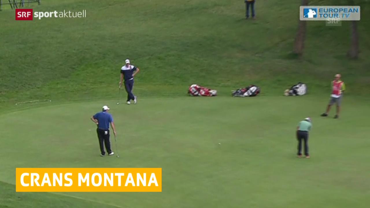 Golf: Start zu den European Masters in Crans-Montana