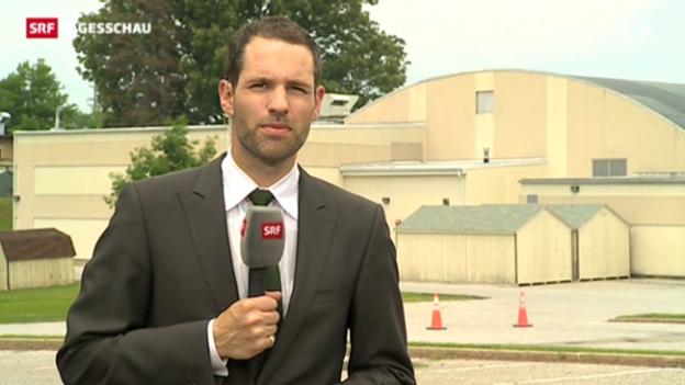 Video ««Manning wirkte konzentriert» (SRF-Korrespondent Arthur Honegger)» abspielen