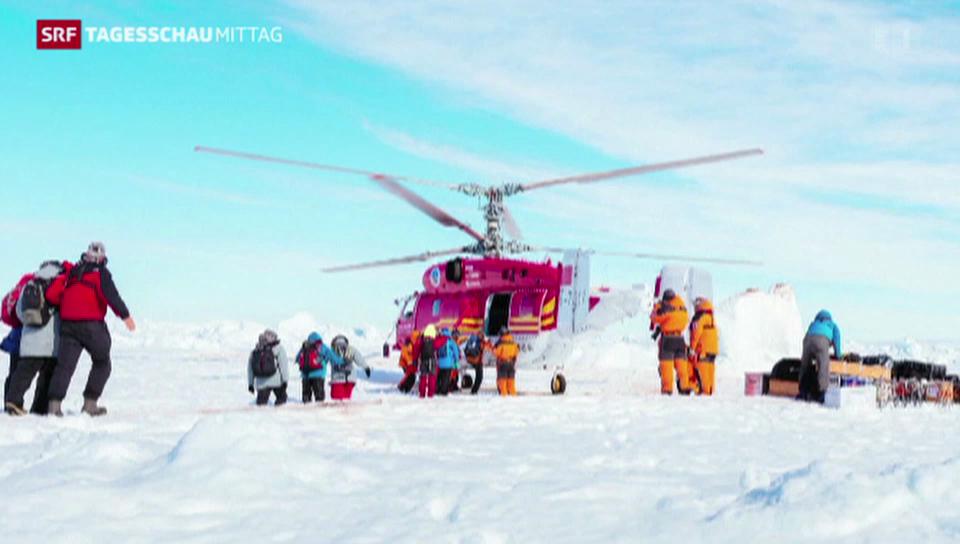 Rettungsaktion in der Antarktis