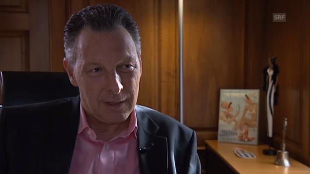Video «Bernard Cloëtta über eine eigene Verordnung der Kosmetik-Branche» abspielen